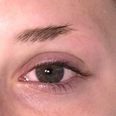 Before Eyebrow